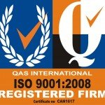 QAS International ISO 9001:2008 - Quality Assurance Logo