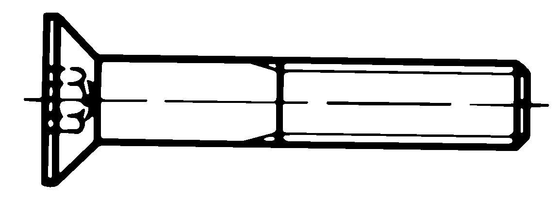 din 7991 iso 10642 flat head countersunk socket cap screw grade 10 9 fuller fasteners. Black Bedroom Furniture Sets. Home Design Ideas