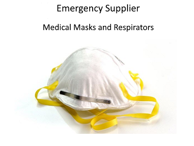 Emergency Supplier of Masks and Respirators